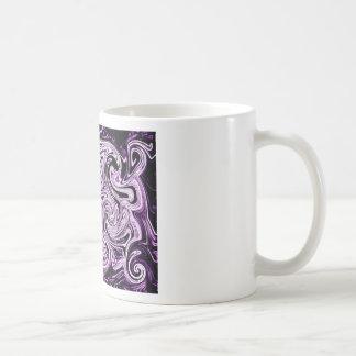 Remolinos púrpuras tazas