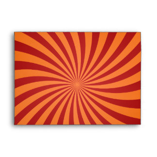 Remolinos rojos del naranja sobre