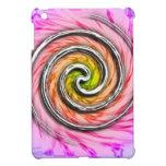 Remolinos rosados del huracán iPad mini coberturas