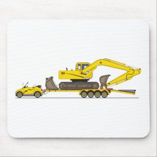 Remolque de la grúa del coche de Eco Tapetes De Ratones