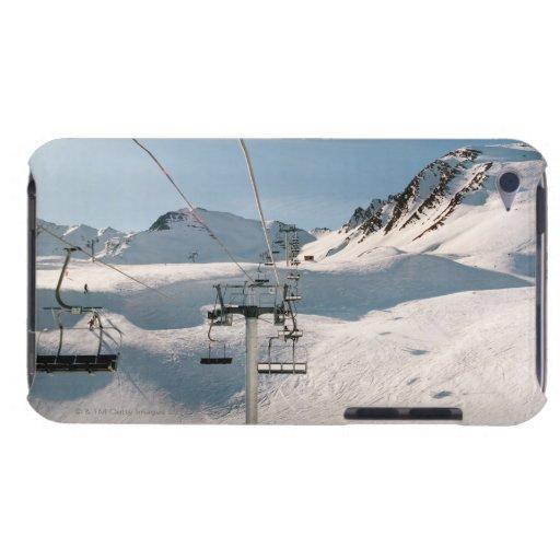 remonte en paisaje nevoso soleado barely there iPod protectores