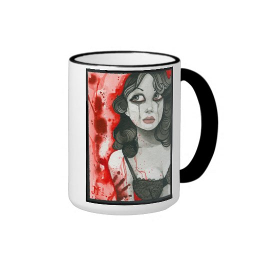 """Remorse"" Ringer Coffee Mug"