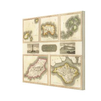 Remote British islands Canvas Print