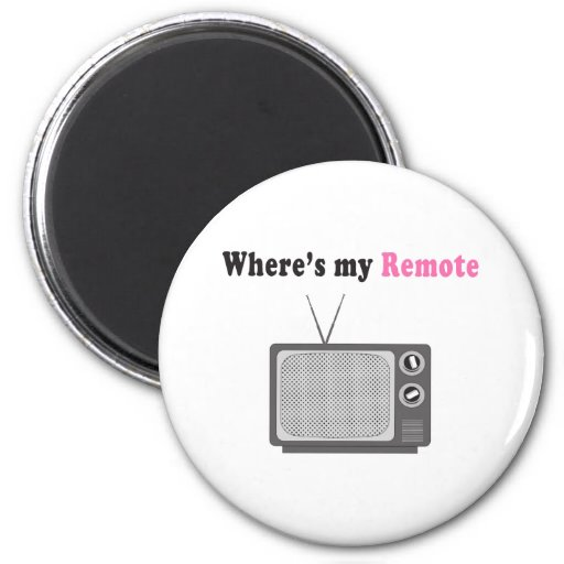 Remote Control 2 Inch Round Magnet