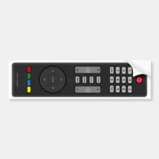 Remote Control Bumper Sticker
