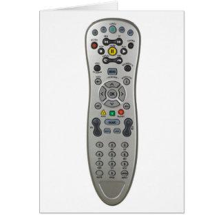 Remote control card