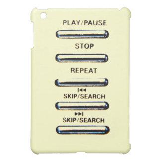 Remote control case for the iPad mini