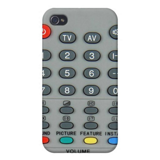 Remote control cases for iPhone 4