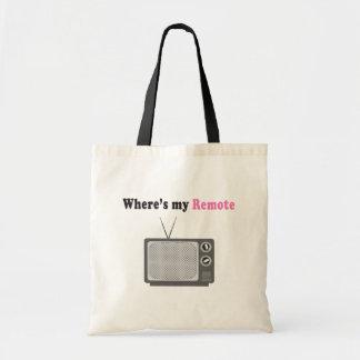 Remote Control Tote Bag