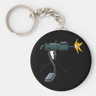 Remote Controlled Basic Round Button Keychain