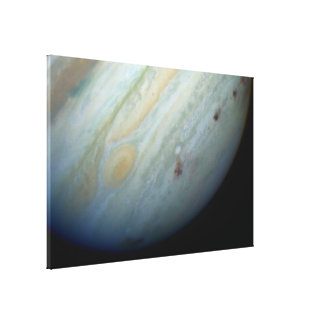Remote Galaxies and Fragmented Canvas Print