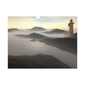 Remote Lighthouse Canvas Print