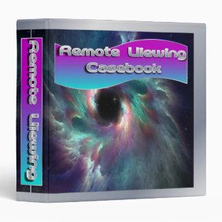 Remote Viewing Casebook Album/Binder 3 Ring Binder