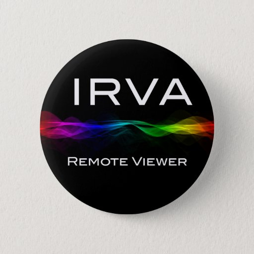 Remote Viewing Pinback Button
