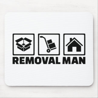Removal man mouse pad