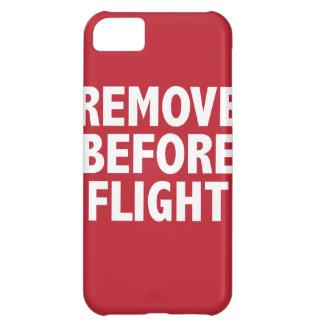 Remove Before Flight iPhone 5C Cases