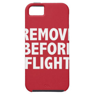 Remove Before Flight iPhone SE/5/5s Case
