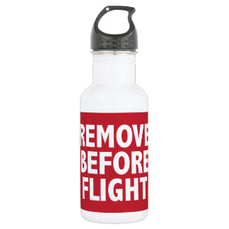 Remove Before Flight Water Bottle