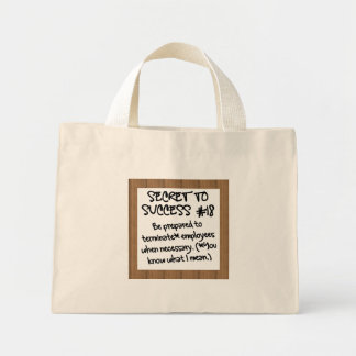 Remove Unproductive Team Members Mini Tote Bag