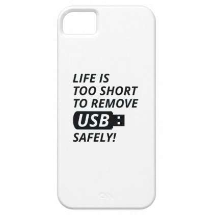 Remove USB Safely iPhone SE/5/5s Case