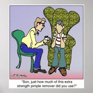 Removedor adicional de la espinilla de la fuerza impresiones