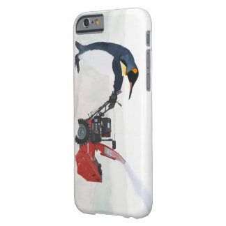 Removedor de la nieve del pingüino funda de iPhone 6 barely there