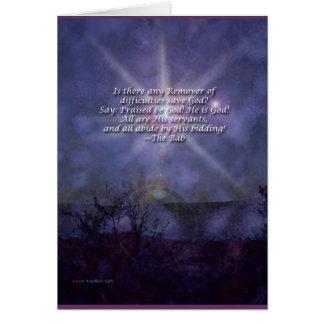 Removedor de la tarjeta del rezo de Baha'i de las