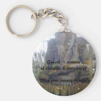 Removedor del ~ de señor Ganesh de obstáculos y de Llavero Redondo Tipo Pin