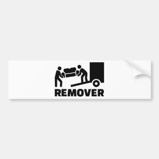 Remover Bumper Sticker