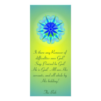 Remover of Difficulties Prayer Rack Card