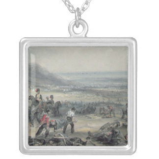 Removing the Dead and Wounded Square Pendant Necklace
