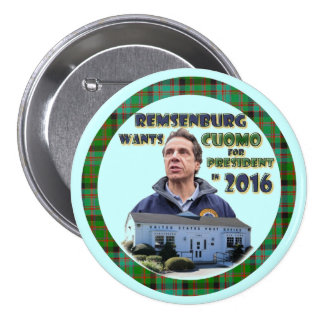 Remsenburg Wants Cuomo President in 2016 Button