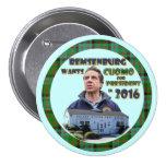 Remsenburg Wants Cuomo President in 2016 Pins