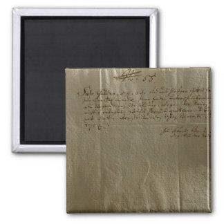 Remuneration Receipt, 17th December, 1704 Magnet