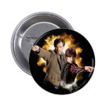 Remus Lupin and Nymphadora Tonks-Lupin Pinback Buttons