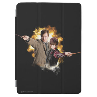 Remus Lupin and Nymphadora Tonks-Lupin iPad Air Cover