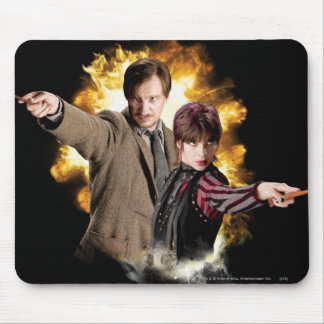 Remus Lupin and Nymphadora Tonks-Lupin Mouse Pad