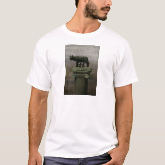Remus Romulus and the she wolf T-Shirt