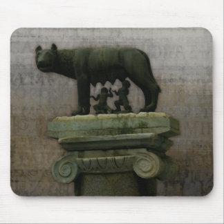 Remus Romulus y ella lobo Tapete De Raton