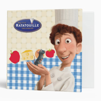 Remy and Linguine 3 Ring Binder
