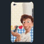 """Remy and Linguine iPod Touch Case<br><div class=""""desc"""">Ratatouille</div>"""