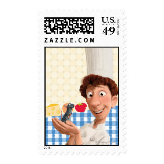 Remy and Linguine Stamps