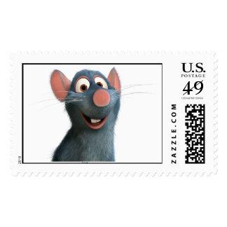 Remy Disney de Ratatouille Estampillas