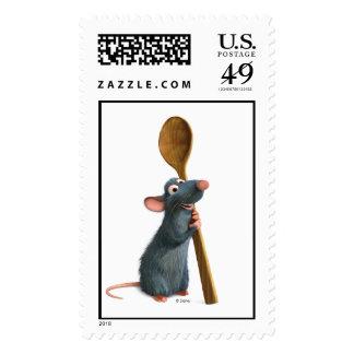 Remy Disney Postage Stamp