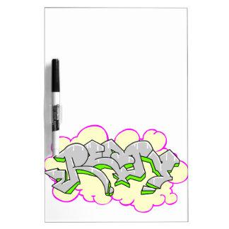 Remy Name Graffiti Dry-Erase Board