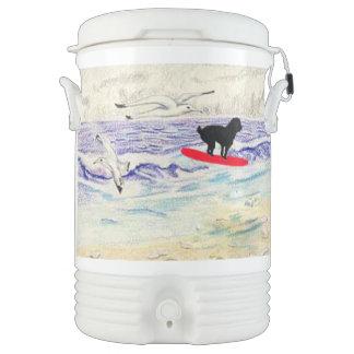 Remy Surfs Igloo Beverage Dispenser