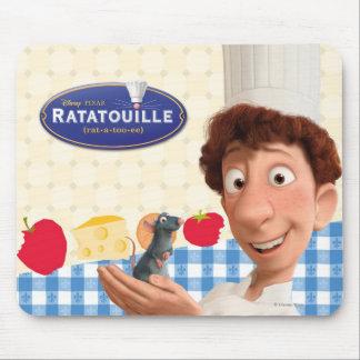 Remy y Linguine Tapete De Ratón