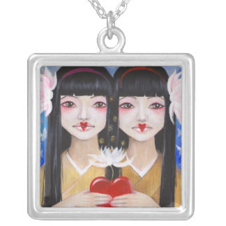 Ren Cho and Shinobu Silver Plated Necklace