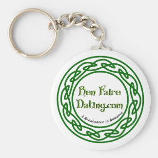 Ren Faire Dating Celtic Circle Basic Round Button Keychain
