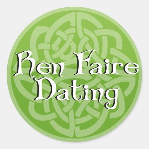 Ren Faire Dating Celtic Sticker